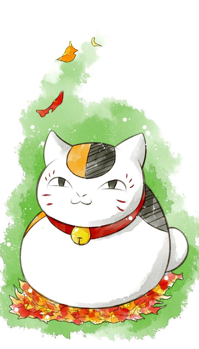 Natsume Yuujinchou   Nyanko-Sensei by OroNoDa