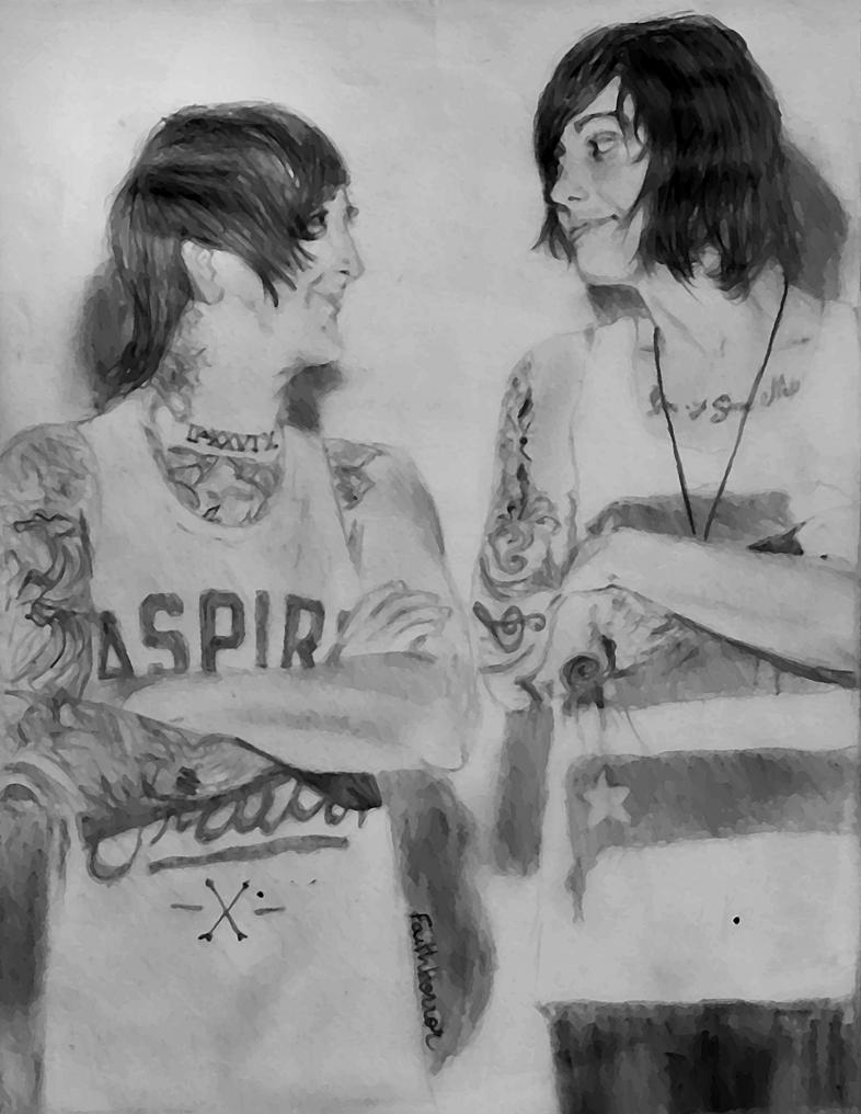 Austin carlile and kellin quinn by evafaithhorror on - Austin carlile wallpaper ...
