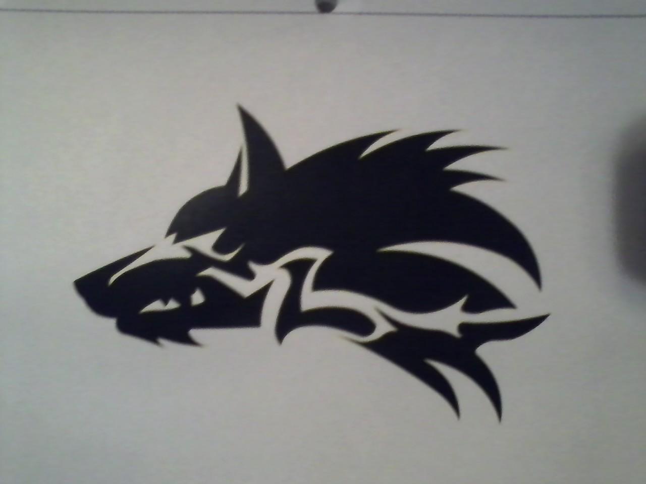 wolf symbol by izicial on deviantart