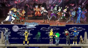 Star Fox crossovers... Mortal Kombat