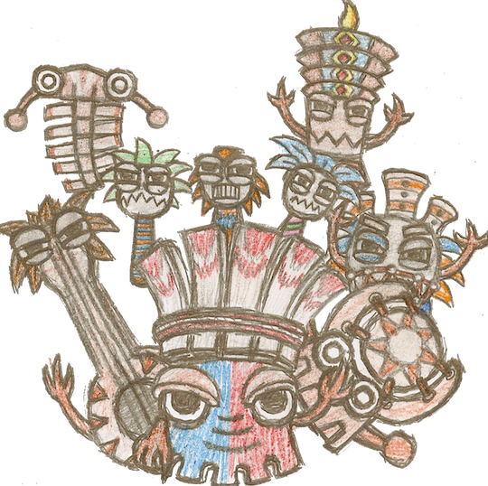 Tiki Tak Tribe by incognitoVindicator on DeviantArt