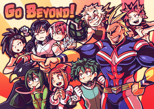 Go Beyond! My Hero Academia!