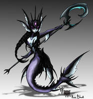 [Skin] Leviathan Nami Concept Art by KwnBlack