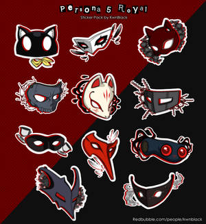 Persona 5: Royal [Sticker Pack]