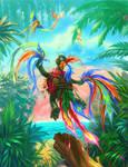 bird of paradise))