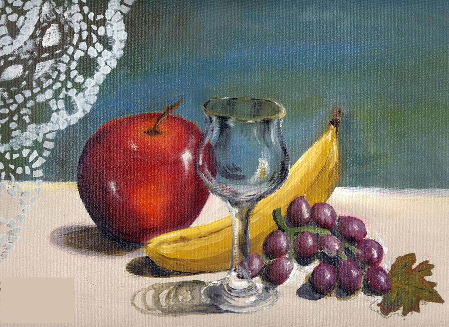 Fruit Painting By Shinigamichick3