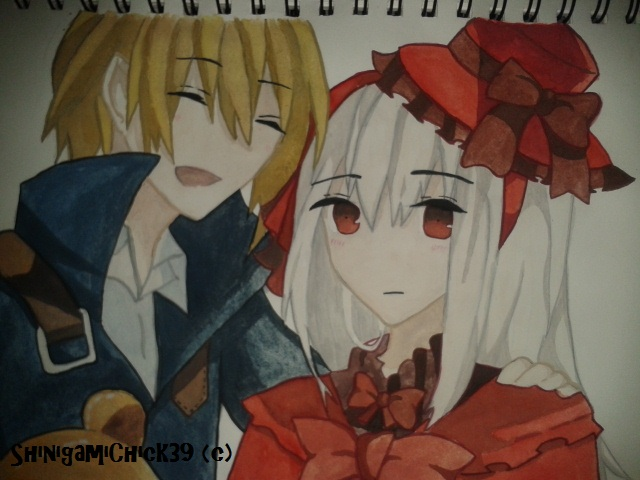 Totsuka and Anna by Shinigamichick39