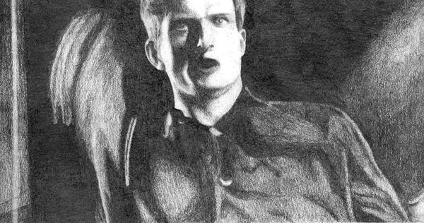 ian curtis by idiotkid