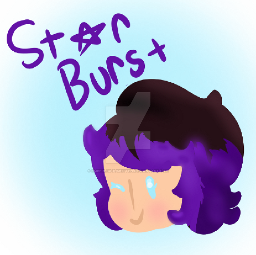 Star Burst doodle by EmberliciousKitten
