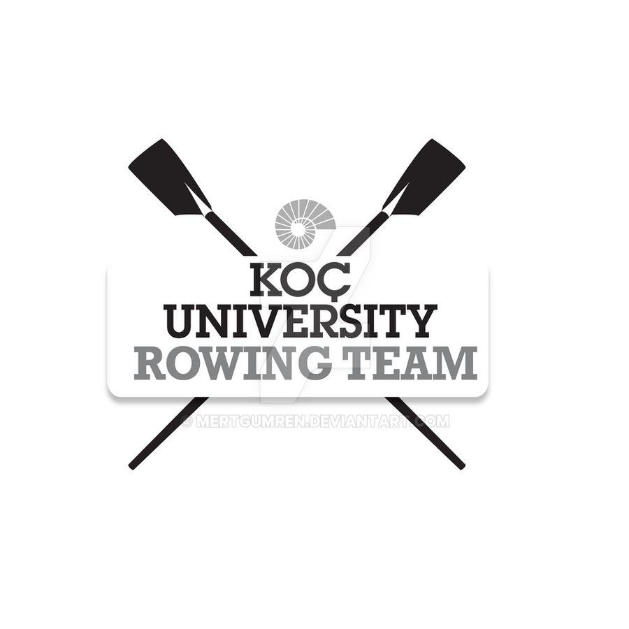 Koc University Rowing Team Logo