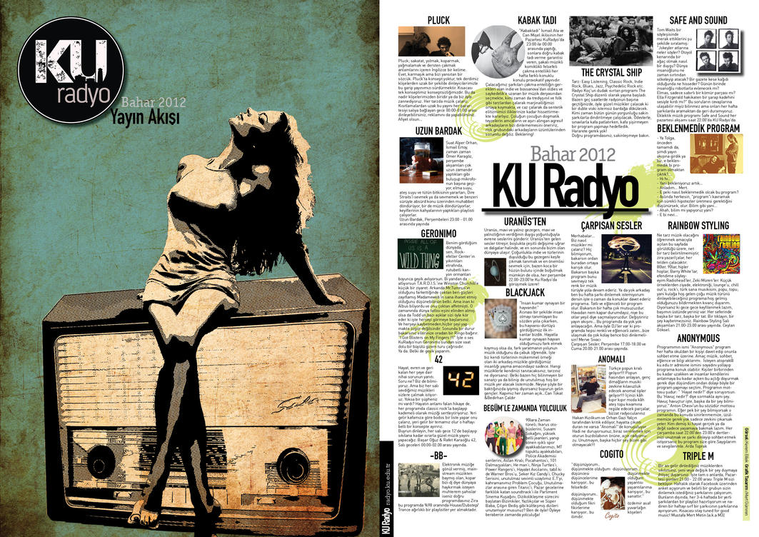 KU Radio Brochure Design by mertgumren