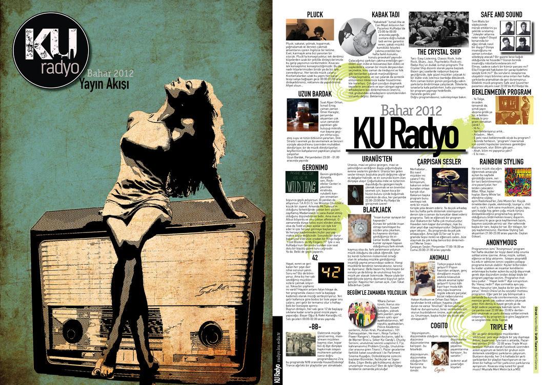 KU Radio Brochure Design by mertgumren