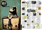 KU Radio Brochure Design