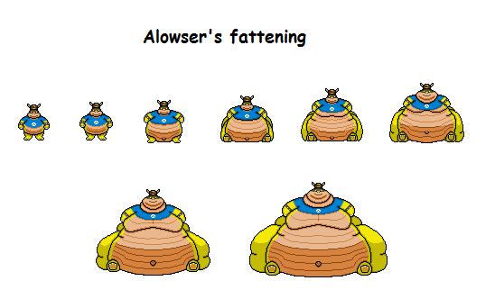 Alowser's fattening by Effra-Bulbizarre
