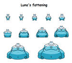 Luna's fattening