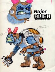 Major Alien