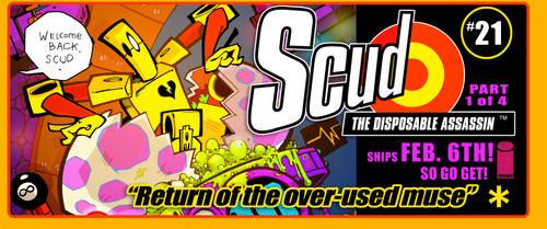 SCUD SHIPS FEB. 6TH by Rob-Schrab