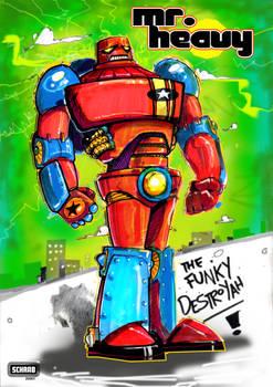 Mr. Heavy: The Funky Destroyah