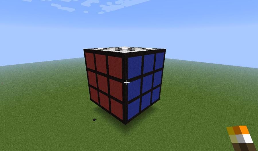 Minecraft Rubik's Cube by legomaniac525