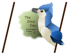 Happy Blue Troodon Digital