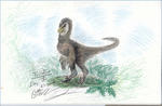 30 Day Dino Challenge #1:  Troodon