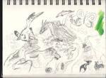 The No Raptor Doodles