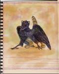 Happy Raven Gryphon