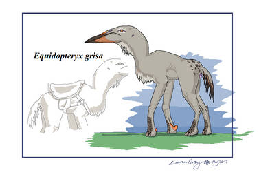 Equidopteryx grisa by WhiskerfaceRumpel