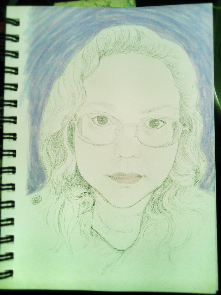 Self-Portrait by bunnykissd