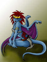 Demona Again by LurkingFish