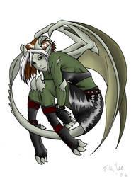 Rogue-Gargoyle by LurkingFish