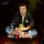 Jeune Pyromancien / Pyromancer boy
