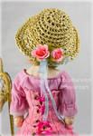 Summer raffia hat by SubcultureDoll