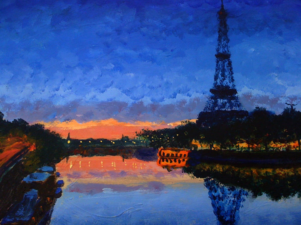 paris in claude monet by rlyawesome on deviantart
