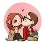 Chibi couple #3