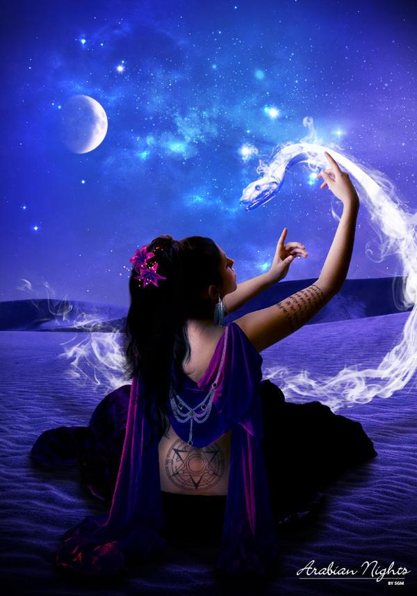 Arabian Nights by Deathly-dream