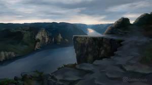 River cliffs