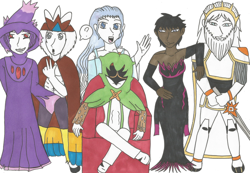 My Pokemon Sun team c: by Jolsma
