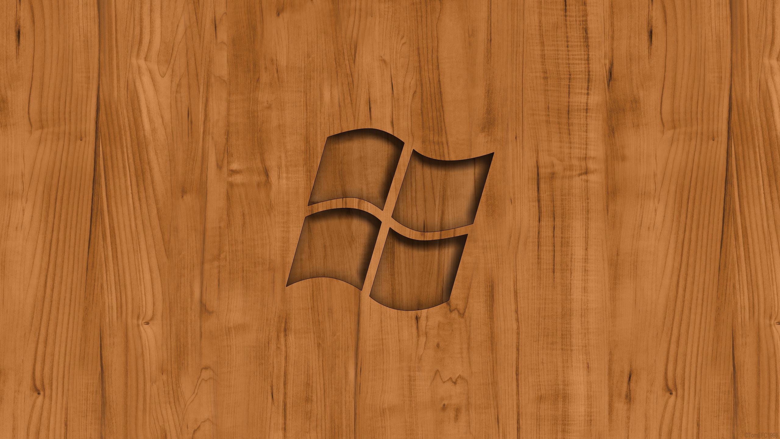 Windows Wood Wallpaper by TomEFC98 on DeviantArt