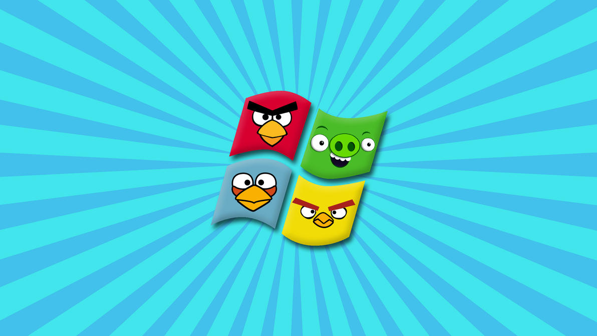 Angry birds windows wallpaper by tomefc98 on deviantart angry birds windows wallpaper by tomefc98 voltagebd Images