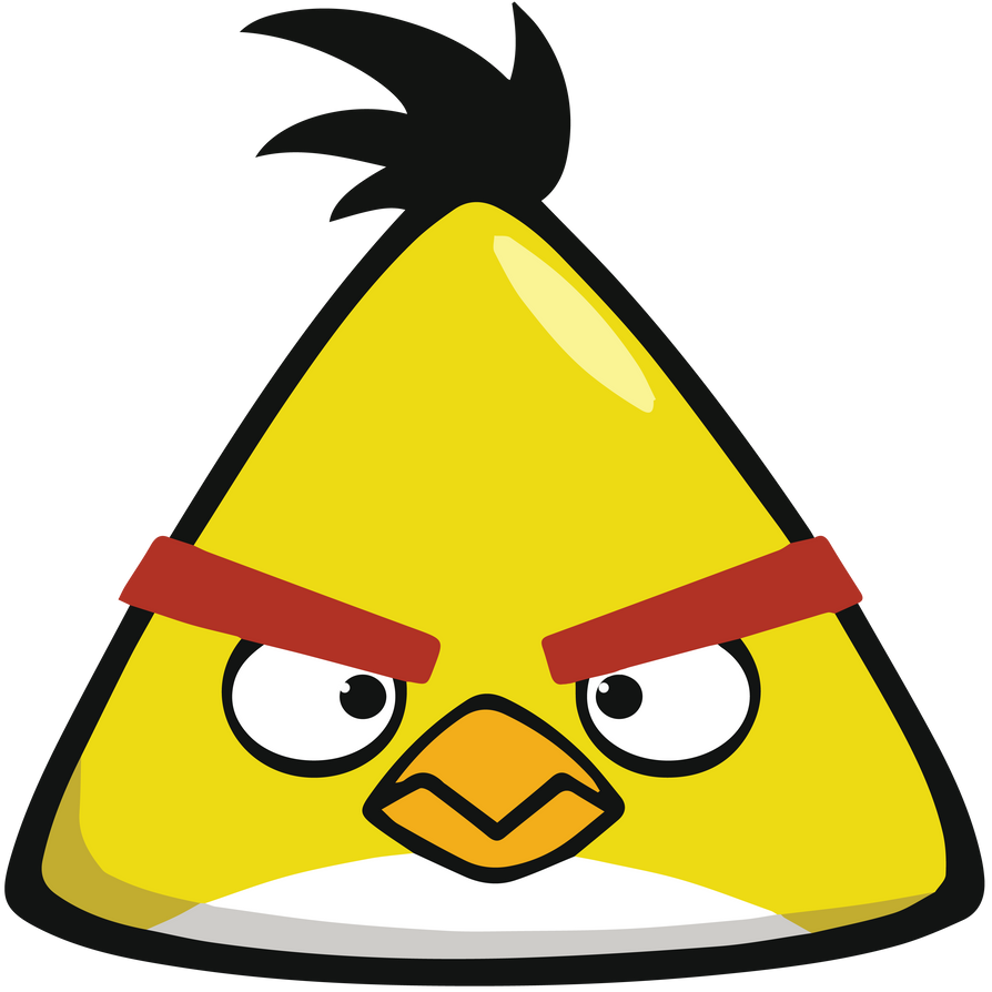 Angry birds chuck yellow super high quality by tomefc98