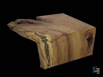 live edge oak coffee table jpg by RobinWade