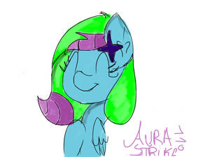 Aura Heartstrings ::colored sketch::