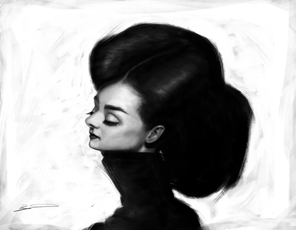 Audrey Hepburn by AhmedHamaki