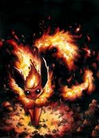 Fiery Encounter by Diaris