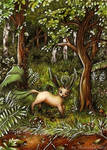 A wild LEAFEON appears