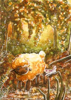Wood-sheep by Diaris