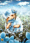 Forget-me-not-sheep