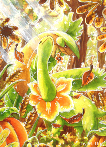 Shiny Harvest by Diaris
