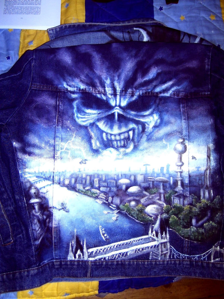 Brave New World IRON MAIDEN art in jacket 2 by ...